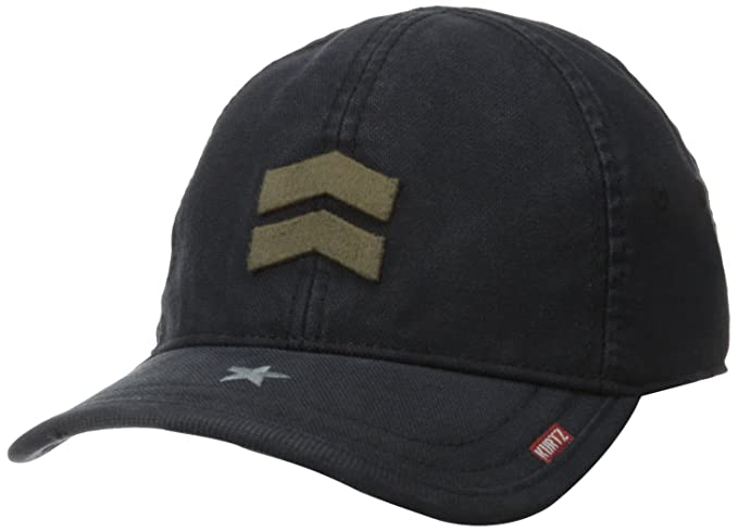 A. Kurtz Mens Fritzflex Baseball Cap, Black, One Size at Amazon Mens Clothing store: