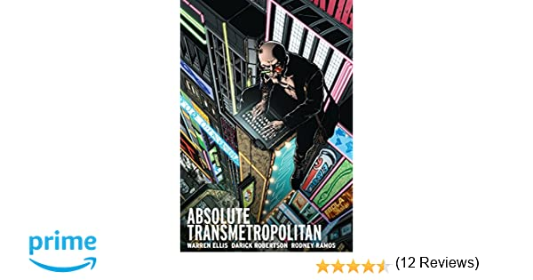 Amazoncom Absolute Transmetropolitan Vol - 21 designer problems turned into funny comics that tell the absolute truth