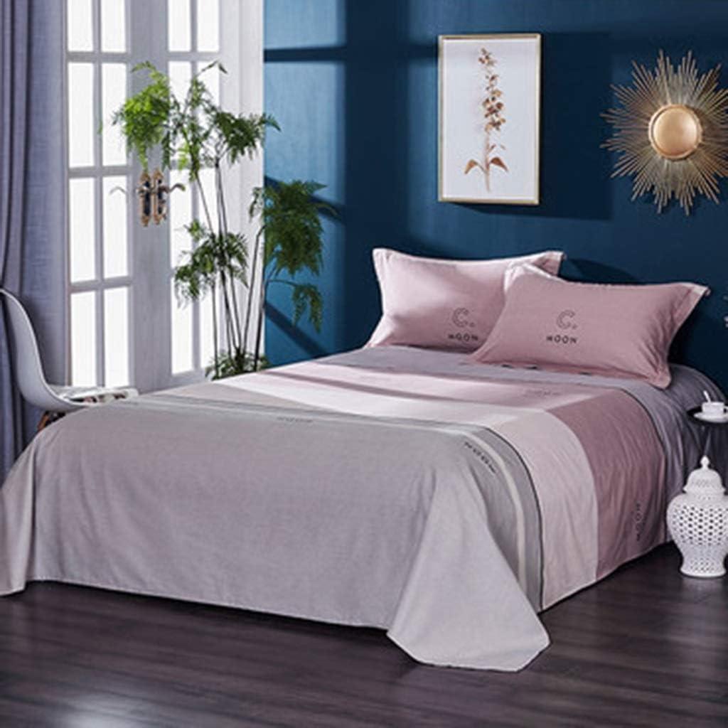 DQMSB Edredones de algodón Cepillado Láminas del Dormitorio Individuales Dobles engrosadas 1.2/1.35 m (Color : D, Size : 160X230cm): Amazon.es: Hogar