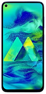 Samsung Galaxy M40 (Midnight Blue, 6GB RAM, 128GB Storage)