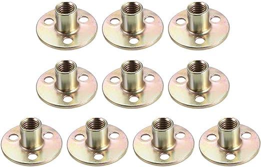 Sourcingmap/® 100/M8/x 22/mm Innengewinde vernickelter Karbonstahl t-nuts W M8/x 20/Schraube