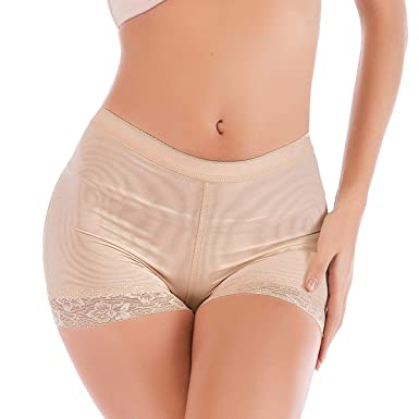 66b22ab1b2b Seamless Butt Lifter Padded Panties Lace Underwear - Enhancing Body Shaper  for Women
