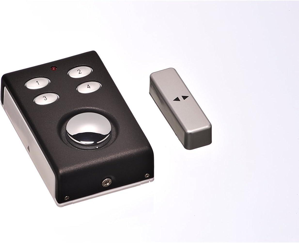 Alarma de doble función con teclado – Contacto sensor magnetico y contacto de alarma.
