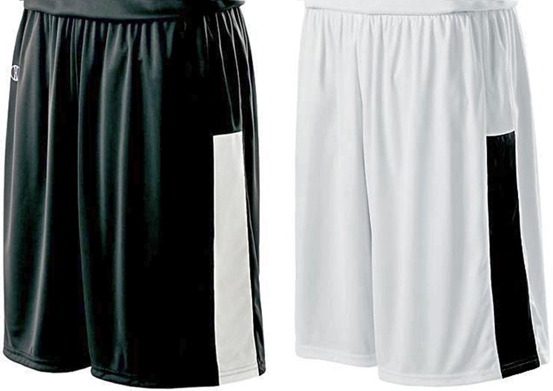 Holloway Reversible Nuclear Short, Black/White, XX-Large