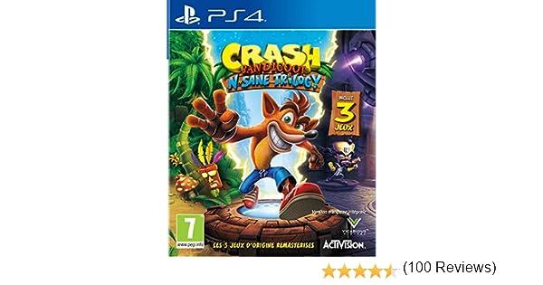 Crash Bandicoot N.Sane Trilogy 2.0: Amazon.es: Electrónica