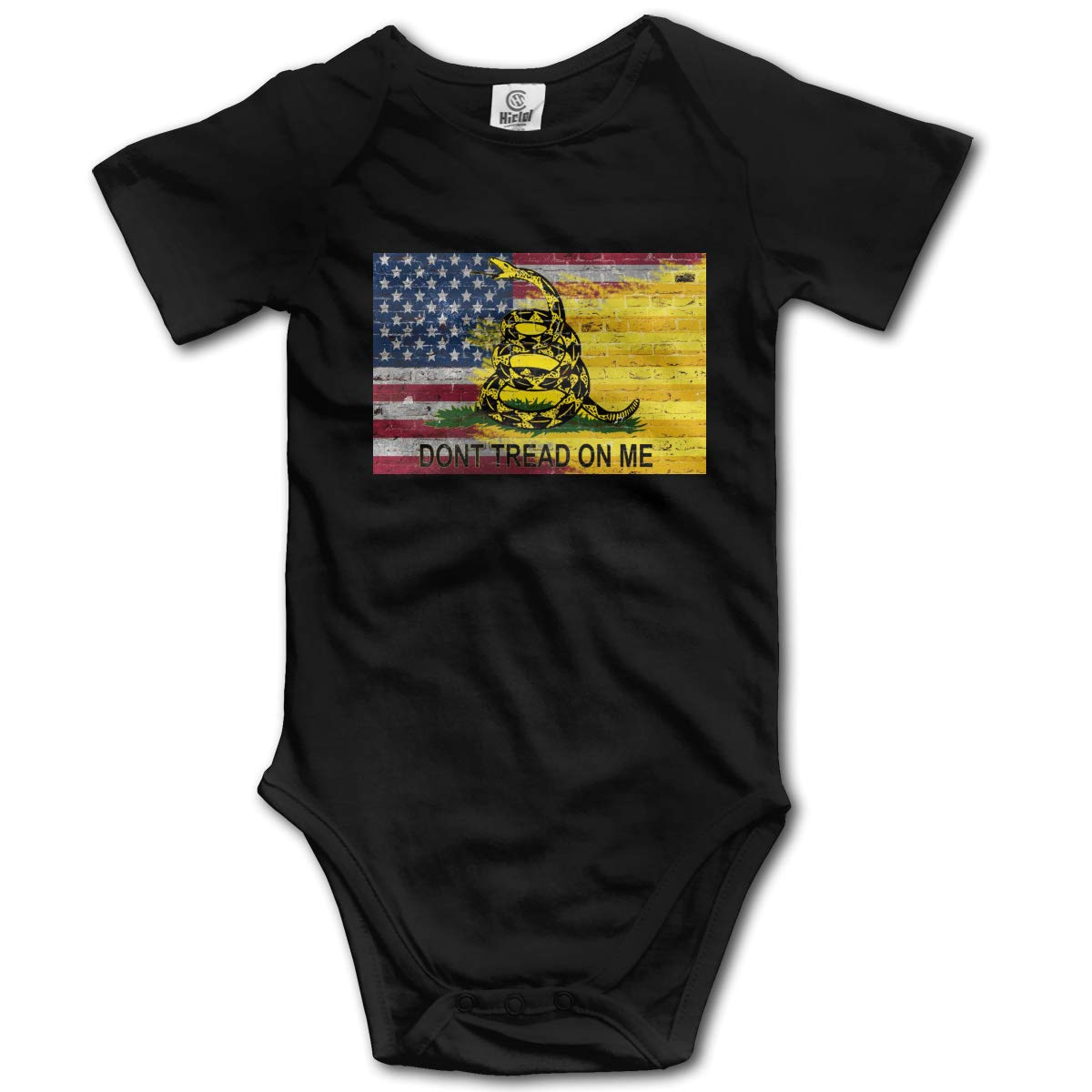 Dont Tread On Me American Flag Suit 6-24 Months Short Sleeve Baby Clothes Climbing Clothes