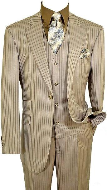 Amazon.com: Luciano Carreli 6298-3904 - Traje de lana para ...
