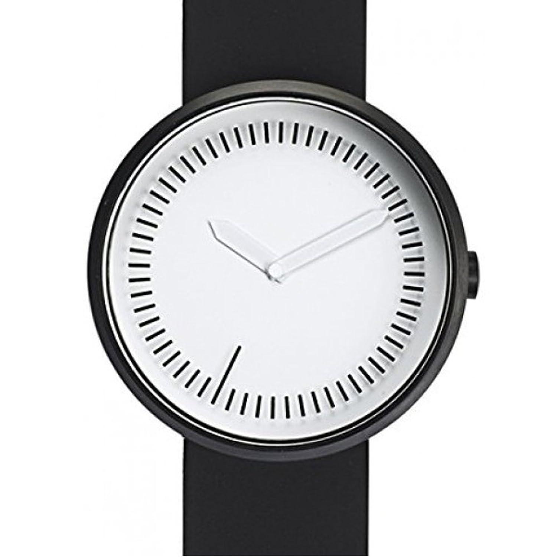 Zwischenzeit Uhr - Schwarz Silikon Band von Denis Guidone fÜr Projekte Uhren