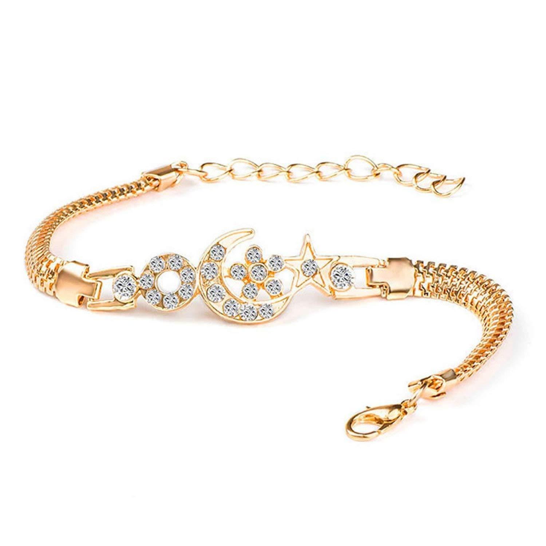Mannerg bracelets Olive Tayl Female Jewellry Accessories Multi-Designs Gold Color Alloy Crystal & Rhinestone Flash Cuff Chain wrap Bra,Ch2858