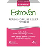 Estroven Perimenopause Relief + Weight Management Supplement - Helps Reduce Hot Flashes & Night Sweats - Helps Manage Weight