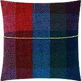 Zuzunaga Merino Wool Seat Cushion | Dark Squares
