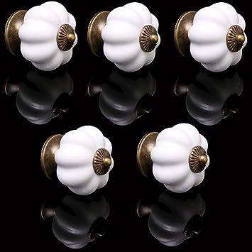 5 X Pomelli cassetti Auralum® Maniglie e pomelli per cassetti di ...
