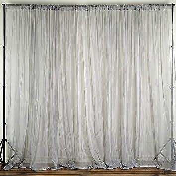 Amazon Lovemyfabric Sheer Chiffongeorgette Stage Backdrop
