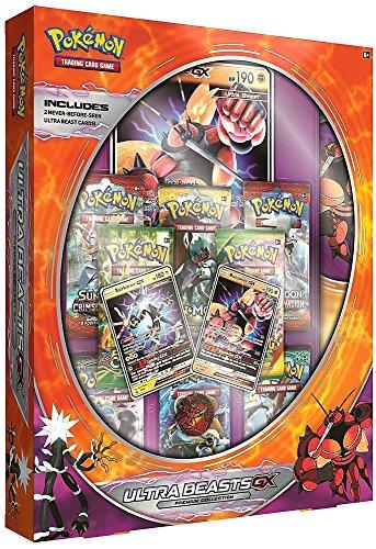 Pokemon Trading Cards Ultra Beast Premium GX Box featuring Buzzwole (2 Premium Trading Cards Box)