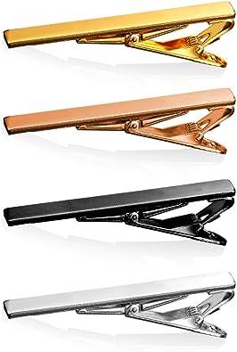 Suit accessories for men Pastel pink stone tie clip. White mans tie bar