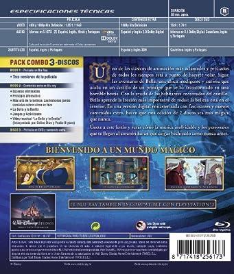 La bella y la bestia Edición Diamante Blu-ray + DVD Blu-ray: Amazon.es: Gary Trousdale, Kirk Wise, Don Hahn: Cine y Series TV
