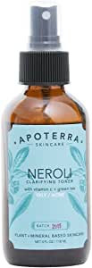 Apoterra - Organic Neroli Clarifying Toner with Vitamin C + Green Tea (4 oz)