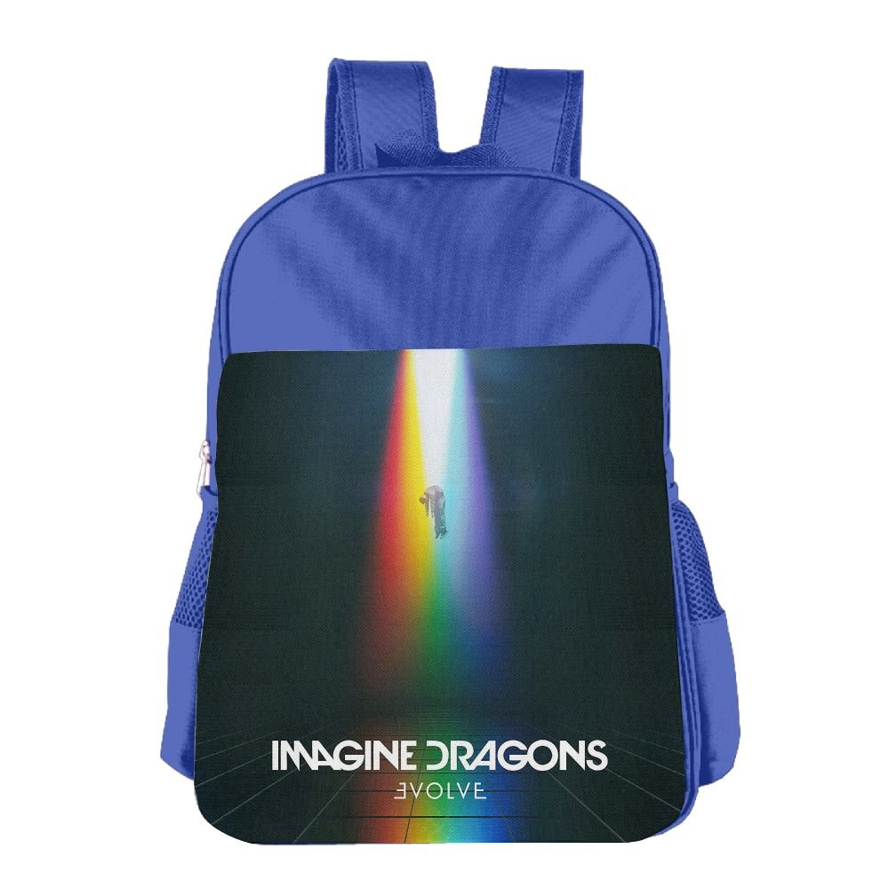 bujinipleifk imagine-dragon e-volve子供バッグベビー男の子女の子幼児用4year古い-14year Old Schoolバックパック、、各種のパターンオプション。 One Size ロイヤルブルー B07DFYLLH3