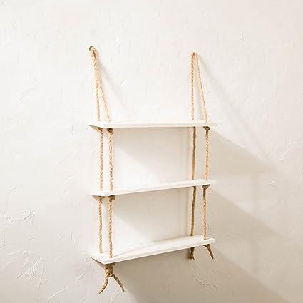 Wall Shelves Mensola/mensole in legno/mensola divisoria in canapa ...