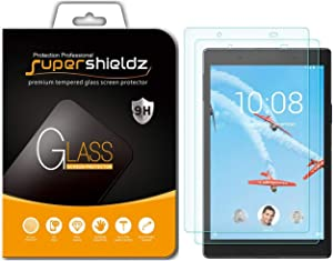 Supershieldz (2 Pack) for Lenovo Tab E8 and Lenovo Tab 8 (TB-8304F, TB-8304F1) Tempered Glass Screen Protector, Anti Scratch, Bubble Free