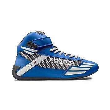 Sparco S00122634AZ Kb 3 Zapatillas, Azul, 34
