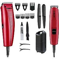 Conair Juego de peluqueria con potente motor magnetico hct978es mx Rojo