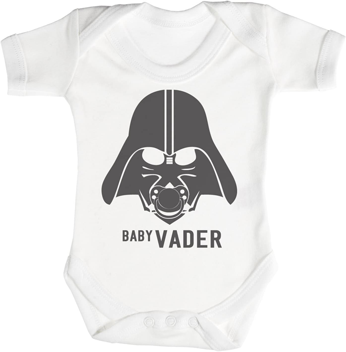 Zarlivia Clothing Baby Vader /& Daddy Vader Matching Father Baby Gift Set Mens T Shirt /& Baby Bodysuit