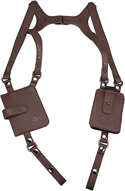 Leather Anti-Theft Hidden aisselles Holster style Shoulder Wallet Phone bags