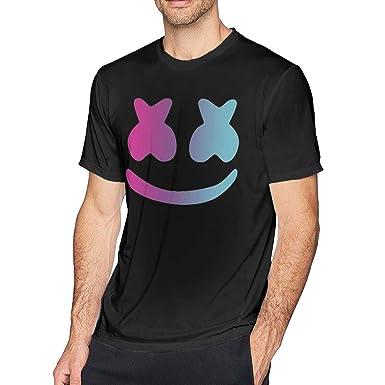 amazon com dj marshmello logo fashion t shirt cool men s tee clothing