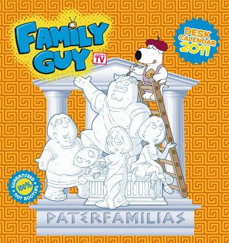 Official Family Guy 2011 Desk Easel Calendar (Family Guy Desk Calendar)