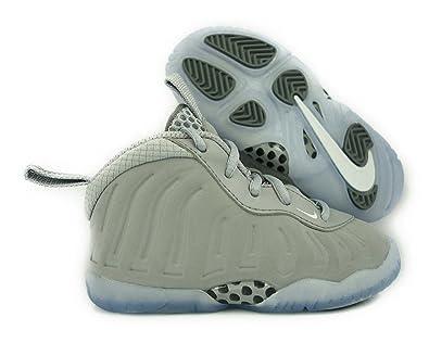 pretty nice 709b3 e0096 Nike Boys Little Posite One Premium TD Wolf Grey, Size 7C