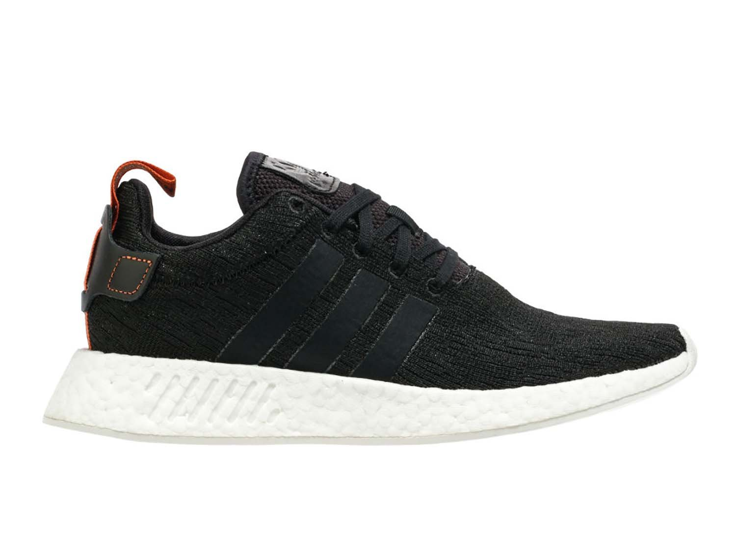 adidas Originals Men's NMD_R2 Sneaker, Black/Black/Future Harvest, 12 M US