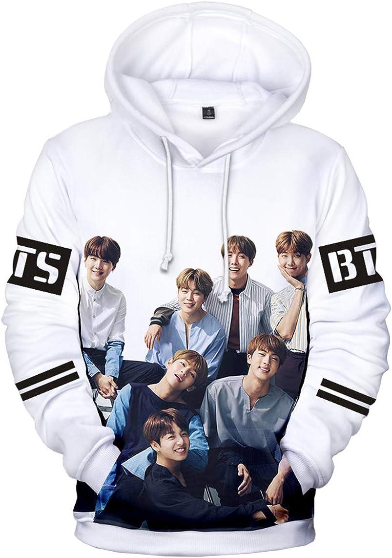 EMILYLE Donna 轉 Tear Sweatshirt Bangtan Boys BTS World Tour Love Yourself Foto Stampa Felpe