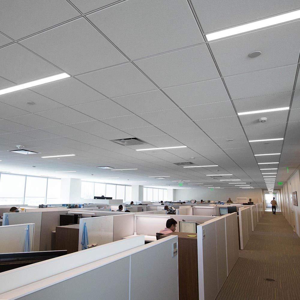 Bellanny LED Lichtleiste,20W LED R/öhre K/üche B/üro usw. Arbeitszimmer 4000K Leuchtstoffr/öhre f/ür Schlafzimmer Neutralwei/ß 60CM