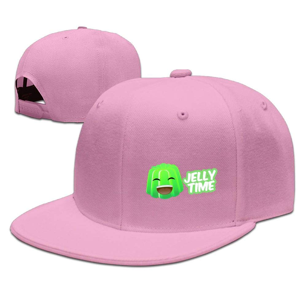Kids Jelly Time Falt Hat Snapback Baseball Cap