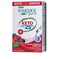Slimquick Pure Extra Strength Mixed Berry Drink Mix, powerful dietary supplement...