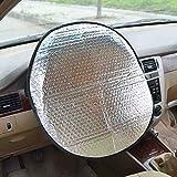 E-LU Steering Wheel Sun Cover with UV Proof (17