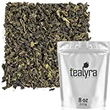 Tealyra - Tie Guan Yin - Oolong Loose Leaf Tea - Iron Goddess of Mercy - Organically Grown - Healing Properties - Best Chinese Oolong - Fresh Award Winning - Caffeine Medium - (8oz / 220g)