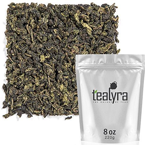 (Tealyra - Tie Guan Yin - Oolong Loose Leaf Tea - Iron Goddess of Mercy - Organically Grown - Healing Properties - Best Chinese Oolong - Fresh Award Winning - Caffeine Medium - (8oz / 220g) )