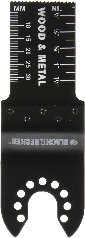"Black & Decker BDA1215 1"" Wood & Metal Plunge Cut Blade"