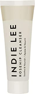 product image for Indie Lee Rosehip Cleanser - Soothing & Nourishing Face Wash with Rosehip Seed Oil & Red Seaweed, Ideal for Sensitive Skin (1oz / 30ml)