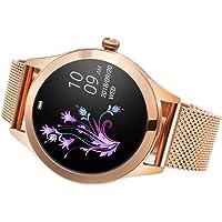 KKmoon KINGWEAR KW10 Smart Watch Sportwatch Women IP68 Waterproof Heart Rate Monitoring BT Fitness Tracker for Android IOS Fitness Bracelet Smartwatch