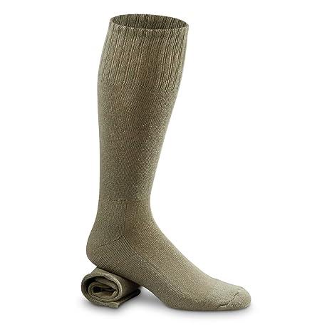 Cheap Military Surplus >> Amazon Com Guide Gear U S Military Surplus Uniform Boot Socks 12