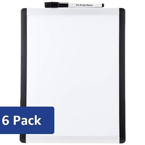 Amazon.com: AmazonBasics – Tablero magnético de borrado en ...