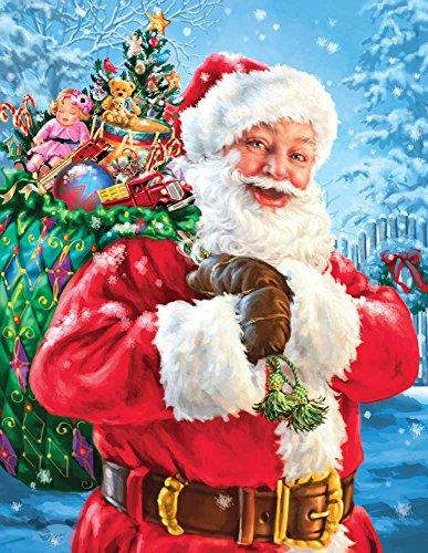 Springbok Santa's Magic Bag Jigsaw Puzzle (400-Piece)