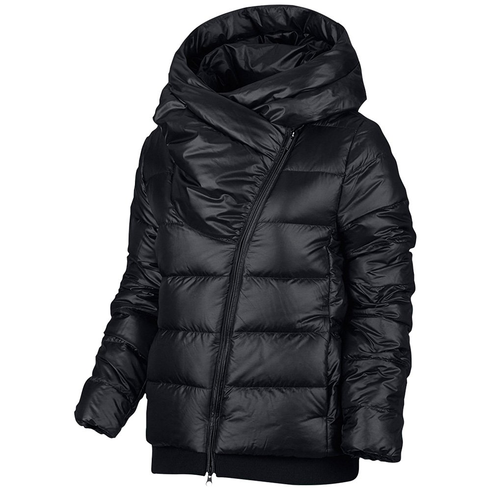 a5ca6a06f24d NIKE Women s Sportswear Puffer Down Jacket Black Cool Grey 854767 065 (Black