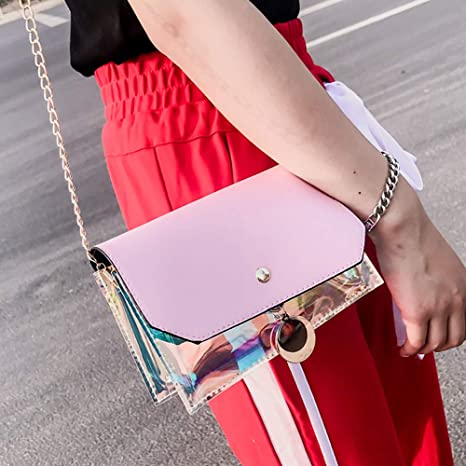 906812c24570 Amazon.com: Copercn Women and Girls Fashion Delicate Acrylic Metal ...