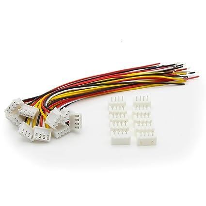 Amazon.com: onkuey 10 pcs 11.1 V 3S 26 AWG Lipo batería ...