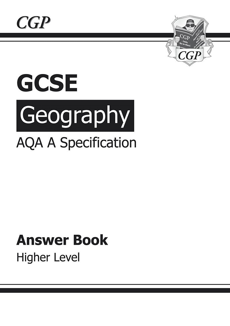 gcse geography aqa a answers for workbook higher a g course