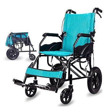 Sillas de ruedas Manual discapacitados Plegable Pacientes ...
